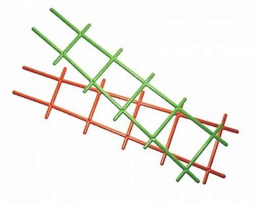 Решетка для вьюнов 50см (зеленая)
