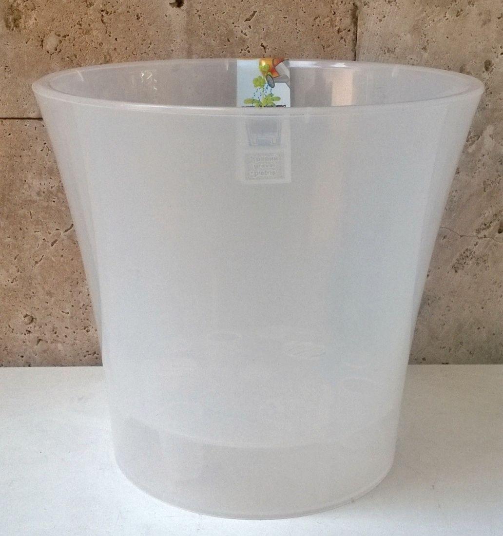 Кашпо АРТЕ прозрачное для орхидей различных диаметров